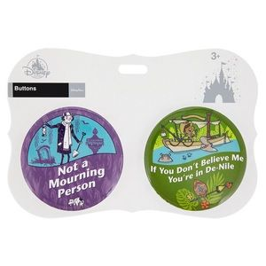 Disney Parks Attractions Button 2 pack